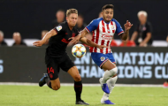Tân binh đến từ Real nhận thẻ đỏ, Atletico suýt thua trận ra quân ICC 2019