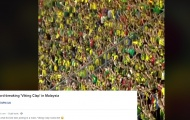 Ultras Malaya khiến báo quốc tế phát sốt vì màn ăn mừng 'Viking'