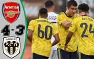Highlights: Angers 1-1 Arsenal (Giao hữu)