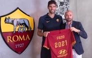 CHÍNH THỨC: AS Roma 'trói chân' thêm một trụ cột trước mùa giải mới