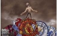 Cười té ghế với loạt ảnh chế Man Utd bị cầm hòa