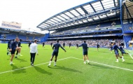 Chùm ảnh: Chelsea tập luyện, quyết giành 3 điểm đầu tiên trước Norwich