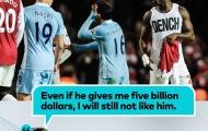 'Có cho 5 tỷ đô tôi cũng chẳng ưa nổi anh ta'