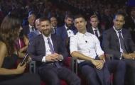 SỐC! MC Lễ trao giải UEFA 'cà khịa' Messi ngay trên sóng truyền hình