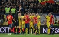 Phạt đền và thẻ đỏ, Tây Ban Nha nhọc nhằn giành 3 điểm trên sân của Romania