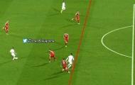 Ronaldo đã việt vị trước khi ghi bàn vào lưới Serbia