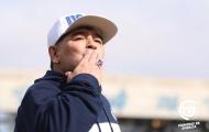 Maradona tái xuất băng ghế chỉ đạo cực chất, hàng vạn fan điên đảo