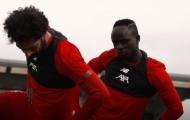 Đây, phản ứng giữa Salah và Mane trong buổi tập mới nhất của Liverpool