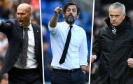 Zidane và 8 chiến lược gia có lần thứ 2 dẫn dắt câu lạc bộ