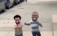 Salah đăng video vui đùa với Mane