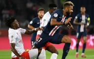 Bại trận, hàng công PSG tiếp tục hứng chịu cú sốc nặng