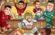 Cười té ghế với loạt ảnh chế Champions League 02/10