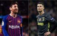 """""""Ronaldo làm rất tốt trước khung thành nhưng Messi…"""""""