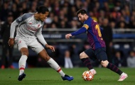 'Bá đạo' là thế, Messi vẫn phải 'ngại' Van Dijk vì một lí do