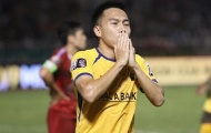 Tiền vệ thuộc top hay nhất V-League trải lòng trước ngày chia tay SLNA