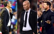 3 'Lão đại' sa cơ, liệu 'cổ tích Leicester' có xuất hiện tại La Liga?