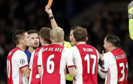 8 bàn, 2 thẻ đỏ; Chelsea và Ajax tạo ra trận cầu siêu kịch tính