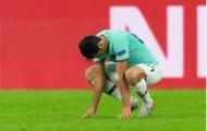 Vẻ mặt không hiểu chuyện gì xảy ra của dàn sao Inter trên đất Đức