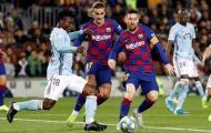 Griezmann đã làm gì trong lúc Messi lập hat-trick?