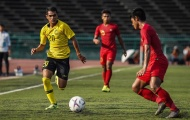 Vừa thách thức U22 Việt Nam, U22 Malaysia đã 'nhận trái đắng'
