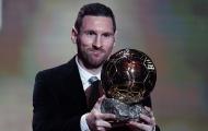 Xuất sắc đánh bại Van Dijk, Messi lần thứ 6 đoạt Quả bóng vàng
