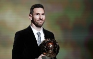 Khoảnh khắc Leo Messi trở thành chủ nhân của QBV 2019