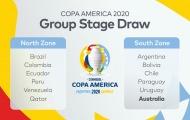 CHÍNH THỨC: Copa America 2020 công bố bảng đấu, Messi đụng Australia