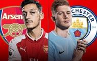 Nhận định Arsenal - Man City: Đánh sập pháo đài Emirates?