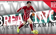Takumi Minamino chia sẻ về giấc mơ Liverpool