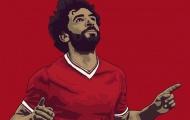 Mohamed Salah: 'Tôi yêu bóng đá, tôi yêu việc được chơi cho Liverpool'