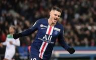 'Kẻ bị thành Milan' ruồng bỏ lập hat-trick khiến Verratti thán phục