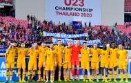 CĐV Thái Lan để lại ấn tượng đẹp trong ngày đội nhà thua ngược Australia