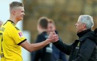 Vì 1 điều, HLV trưởng Dortmund bỏ ngỏ 'màn chào sân' của Haaland