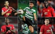 Bruno Fernandes ở đâu trong Top 10 HĐ đắt giá nhất lịch sử Man Utd?