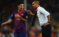 Guardiola mong muốn Messi giải nghệ tại Barcelona