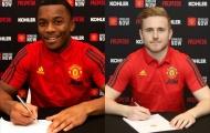 XONG! Man Utd ký một lúc 2 bản hợp đồng mới