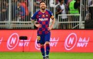 Tương lai Messi chỉ đảm bảo ở Barca với sự xuất hiện của 1 cái tên bất ngờ