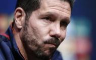 Atletico bất ngờ mất 'quái thú', Simeone lại đau đầu...