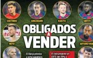 Danh sách 8 cái tên chuẩn bị khăn gói rời khỏi Barca?