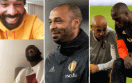 Lukaku: 'Có thể anh ấy đã nghỉ hưu, thế nhưng vẫn thể hiện đẳng cấp cao'