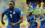 Balotelli đáng ăn tát trong mắt thủ quân Juventus