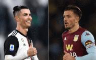 Jack Grealish: 'Ronaldo là hình tượng của tôi'