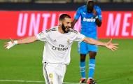 Benzema ghi bàn kiểu kung-fu, Real vùi dập Valencia trên sân nhà