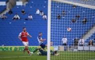 Pepe lập siêu phẩm, Arsenal vẫn thua cay đắng trên sân Brighton