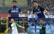 10 cầu thủ từng khoác áo Inter Milan và Sassuolo: Nhà á quân World Cup, nạn nhân của Conte góp mặt