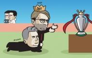 Cười vỡ bụng với loạt ảnh chế Vòng 30 Premier League