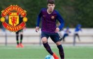 Man Utd đạt thỏa thuận đón tân binh từ Barcelona