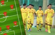 Đội hình tiêu biểu U22 Việt Nam từ danh sách 48 cầu thủ tập trung đợt 2
