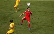 Sao trẻ CLB Long An ghi bàn trong trận đấu nội bộ U22 Việt Nam