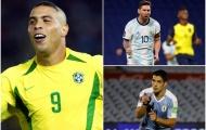 """Messi, Suarez cùng lúc cân bằng kỷ lục của """"người ngoài hành tinh"""""""